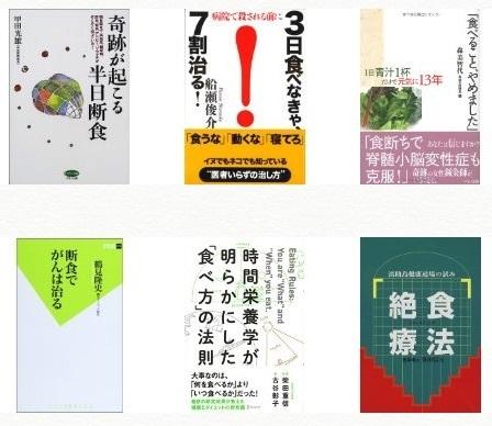 絶食・断食・不食に関する書籍